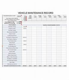 Vehicle Service Log Vehicle Maintenance Log 7 Free Pdf Excel Documents