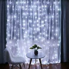 Where To Buy Curtain Lights Fairy Curtain Lights 304 Led 9 8ftx9 8ft 30v 8modes Safety