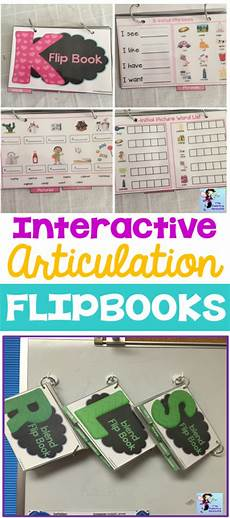 Slu My Chart Interactive Flip Books For Articulation Therapy
