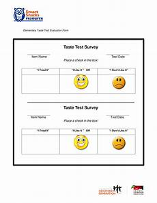 Free 13 Food Evaluation Forms In Pdf Ms Word