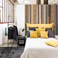 da letto gialla fodera di testata da letto giallo senape 140 cm soft
