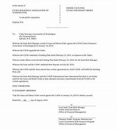Sample Cease And Desist Letter Cease And Desist Letter Template 16 Free Sample Example