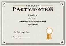 Free Certificates Of Participation Free Certificate Template 65 Adobe Illustrator