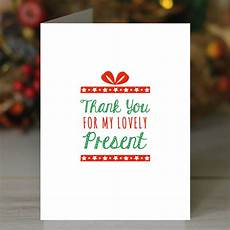 Thank You For The Visit Thank You For My Present Card By Loveday Designs