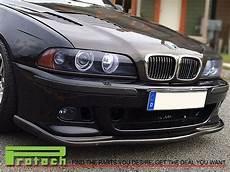 Real Carbon Front Bumper Lip Spoiler For 1997 2002 Bmw E39
