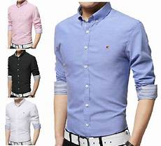 casual shirts sleeve mens casual button shirts slim fit shirt top