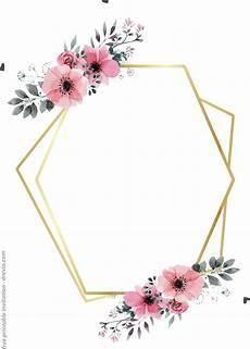 Design Printable Invitations 24 Free Printable Floral Watercolor Invitation Templates