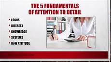 What Is Detailed Oriented Five Fundamental Elements Of Attention To Detail Online