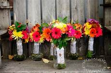 bridal party flower bouquets diy flowers from trader joes