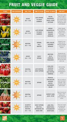 Vegetable Growing Guides The Home Depot Eat What You Sow Bfs Fruit And Veggie Guide