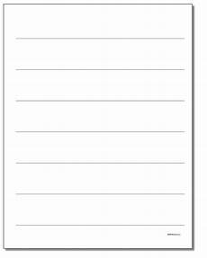 Numbered Lined Paper Printable Lined Paper