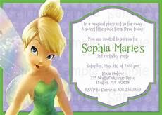 Tinkerbell Invitation Printable Tinkerbell Birthday Or Baby Shower Invitation