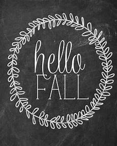 Cute Chalkboard Designs Ten Free Fall Printables From Thrifty Decor Chick