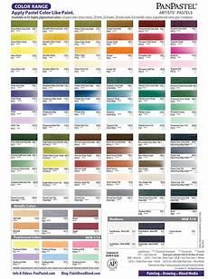 Pan Pastel Color Chart Panpastel Dry Colour Paints