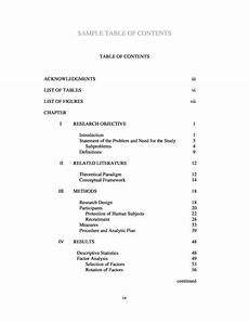 Example Of Table Of Content 20 Table Of Contents Templates And Examples ᐅ Templatelab
