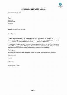 Farewell Dinner Invitation Letter Invitation Letter For Dinner Templates At