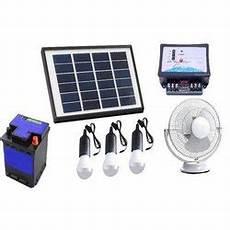 Kirloskar Solar Home Lighting System Sun Urja New Delhi Exporter Of Mini Solar Lighting