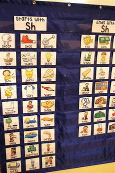 Long Pocket Chart Sh Pocket Chart Centers And Materials Phonics Sounds