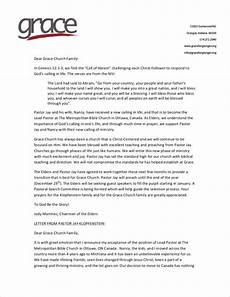 Resignation Letter Church Position Free 10 Church Resignation Letter Samples And Templates