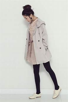 modern vintage kfashion coat shoes korean fashion