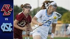 University Of South Carolina Lacrosse Boston College Vs North Carolina Acc Women S Lacrosse