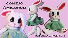 amigurumi conejo tutorial a crochet paso a paso parte 1