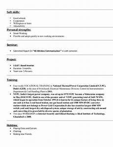Resume Strengths Resume Avi Doc 31 May 13 15 04 01