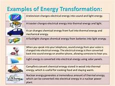 Light Energy To Electrical Energy Examples Energy