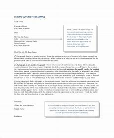 Professional Cover Letter Format Free 6 Professional Letter Format Samples In Pdf Ms Word