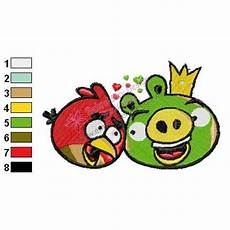 Angry Bird Designs Angry Birds Embroidery Design 22