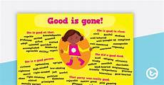 Good Another Word Other Words For Good Synonym Poster