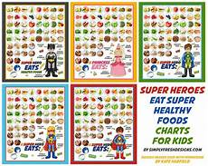 Healthy Chart Healthy Eating Charts For Kids Simply Fresh Designs