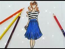 desenho de roupas como desenhar croqui de moda
