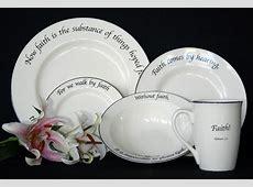 18 best Scripture Tableware images on Pinterest   Dinner