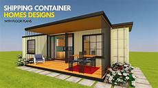 prefab shipping container homes designs with floor plans