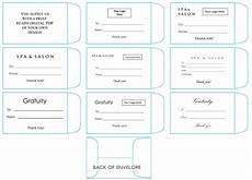 Green Envelope Size Chart Printed Tip Amp Gratuity Envelopes