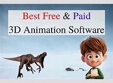 Download Best Free and Paid 3D Animation Software in 2019