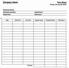 Wages Timesheet Template 6 Free Timesheet Templates For Tracking Employee Hours