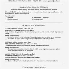 Resume For Teaching Position Template Teacher Resume Examples And Writing Tips