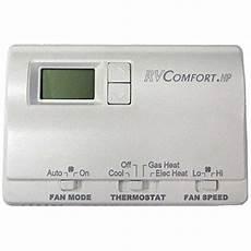 Coleman Mach 8530a3451 Digital Heat Pump Rv Thermostat White