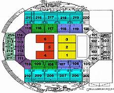 World Arena Detailed Seating Chart World Arena Seating Chart Ticket Solutions