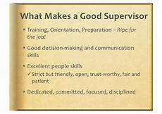 What Makes A Great Supervisor Best Practices In Supervision