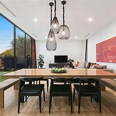 Glass Pendant Lights Over Dining Table Cocoon Pendant Dining Table Pendant Light Dining Table