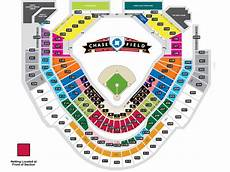 Chase Field Suite Seating Chart Chase Field Seating Map Mlb Com