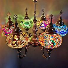 Turkish Lamp Light Bulb Size Turkish Moroccan Large Coloured Glass Mosaic Chandelier