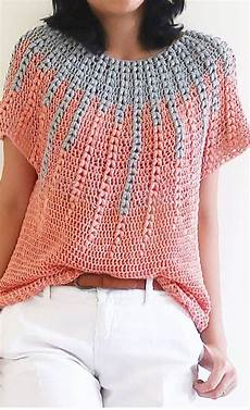 crochet summer easy and stylish free crochet tops pattern ideas for