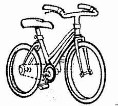 einfaches fahrrad ausmalbild malvorlage die weite welt
