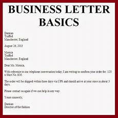 Basic Business Letters Business Letter March 2014