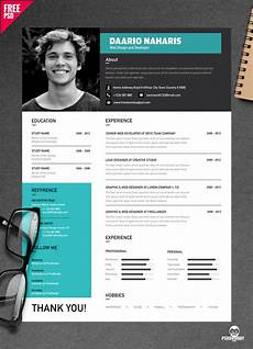 Creative Cv Free Templates Download Simple Resume Design Free Psd Psddaddy Com