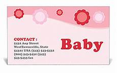 Baby Business Cards Baby Business Card Template Amp Design Id 0000000915